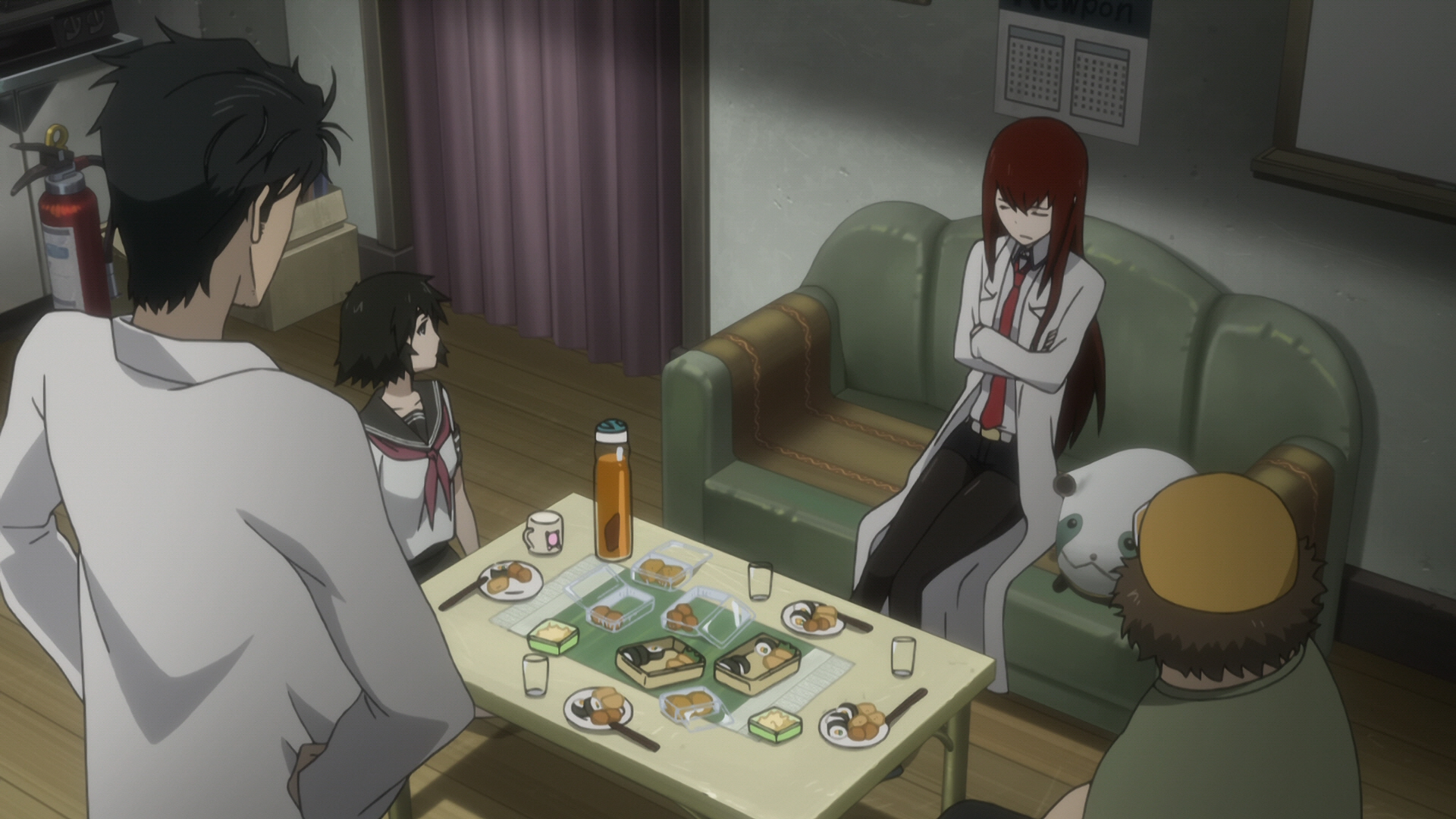 Steins Gate Episode 9 Chaos Theory Homeostasis II 08
