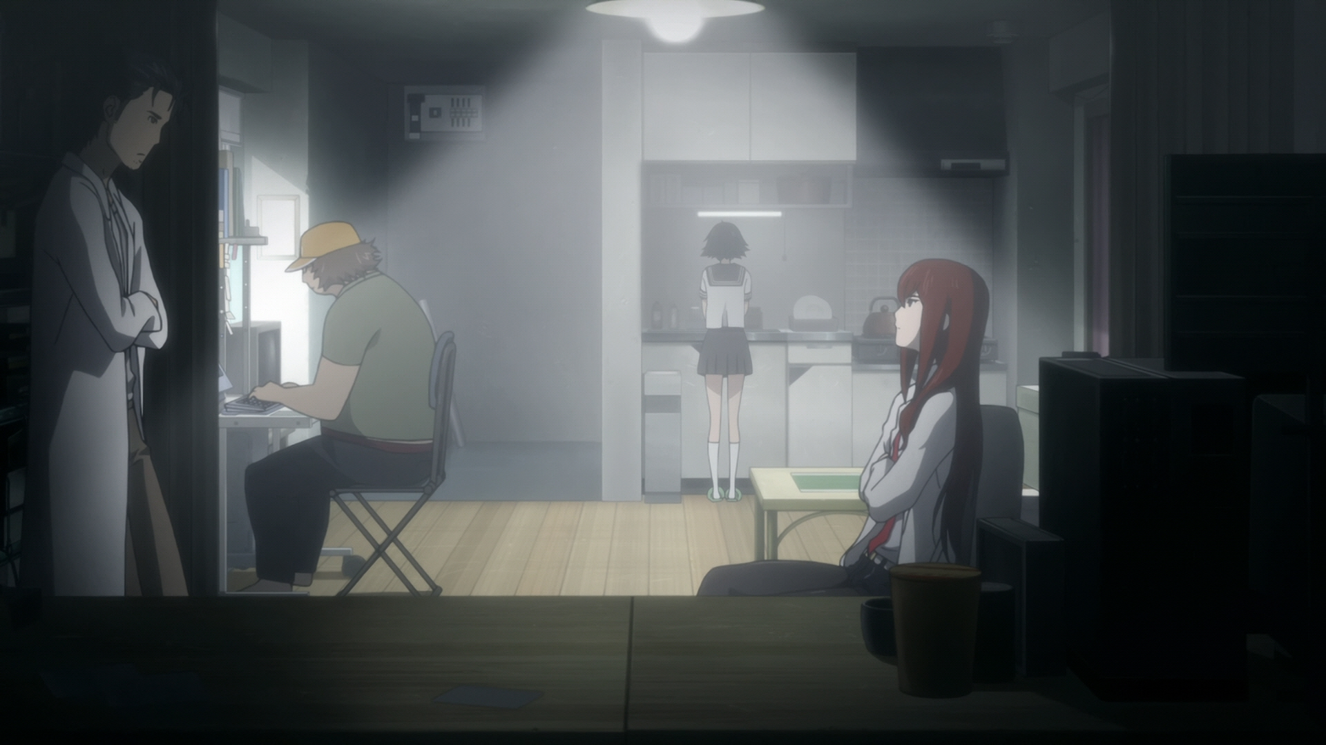 Steins Gate Episode 9 Chaos Theory Homeostasis II 09