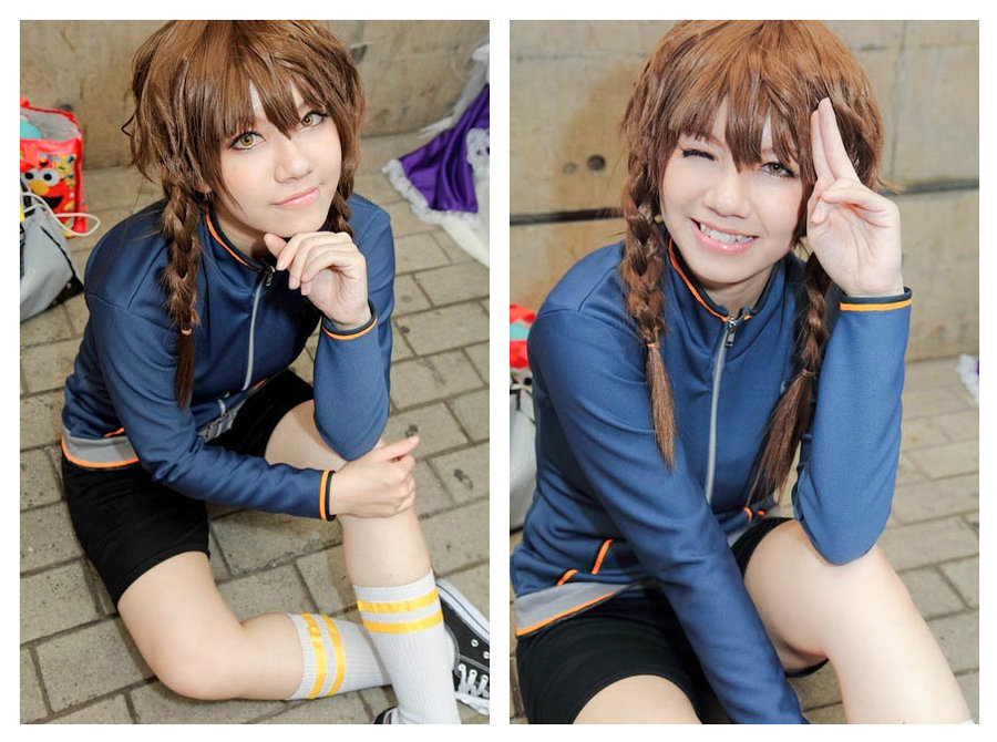 Suzuha cosplay (steins;gate)