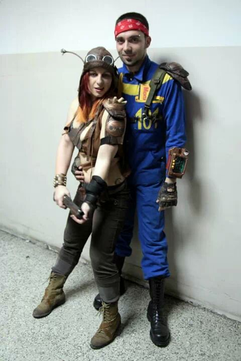 The Vault Dweller and a Raider. And unlikely romance.