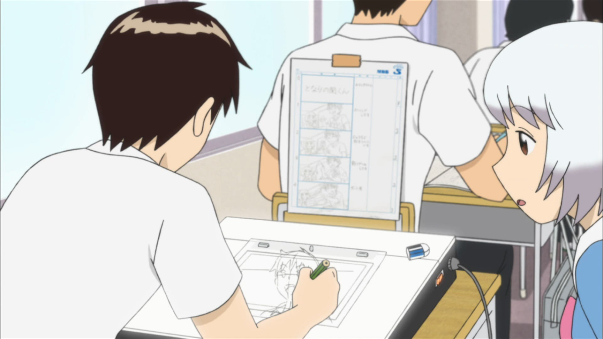 Tonari no Seki-kun The Master of Killing Time Episode 3 00