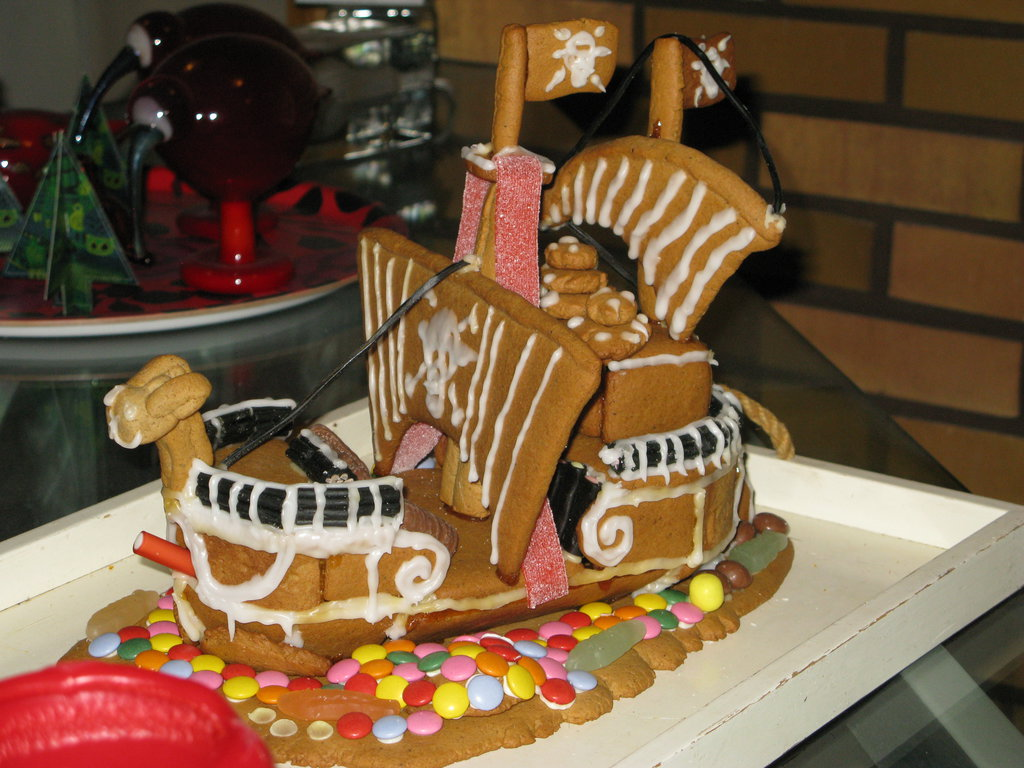 Gingerbread Going Merry