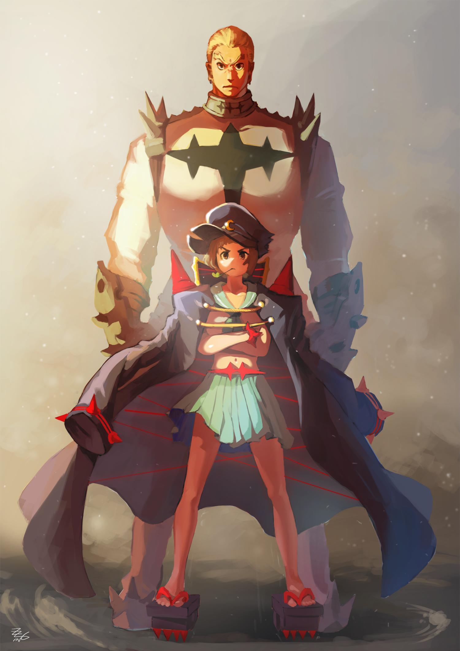 Mako and Gamagoori