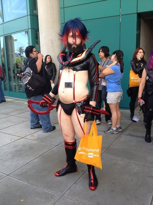 Probably the hottest Kill la Kill cosplay I've ever seen