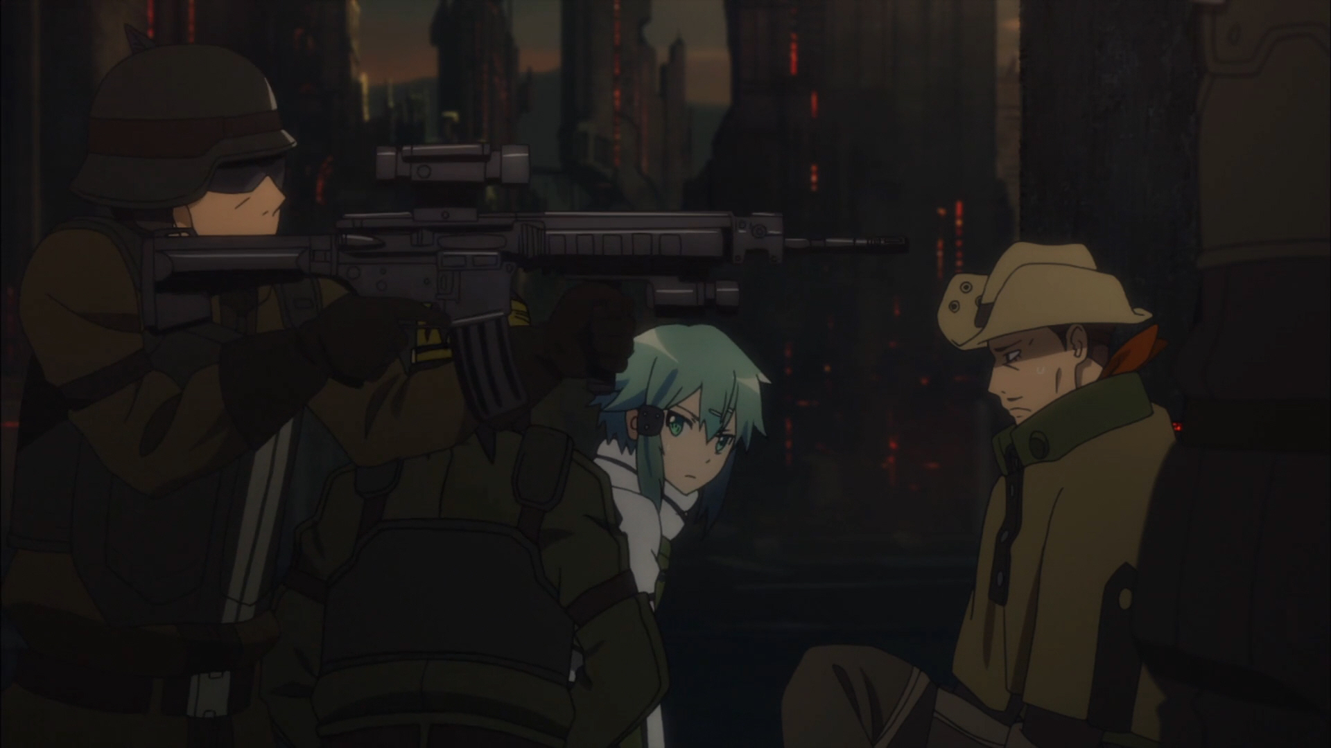 Sword Art Online 2 Episode 2  Ice Sniper 0017