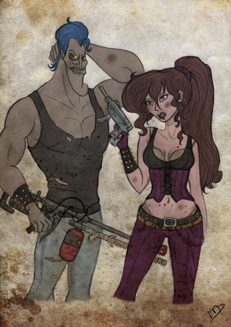 The Walking Disney Meg and Hades