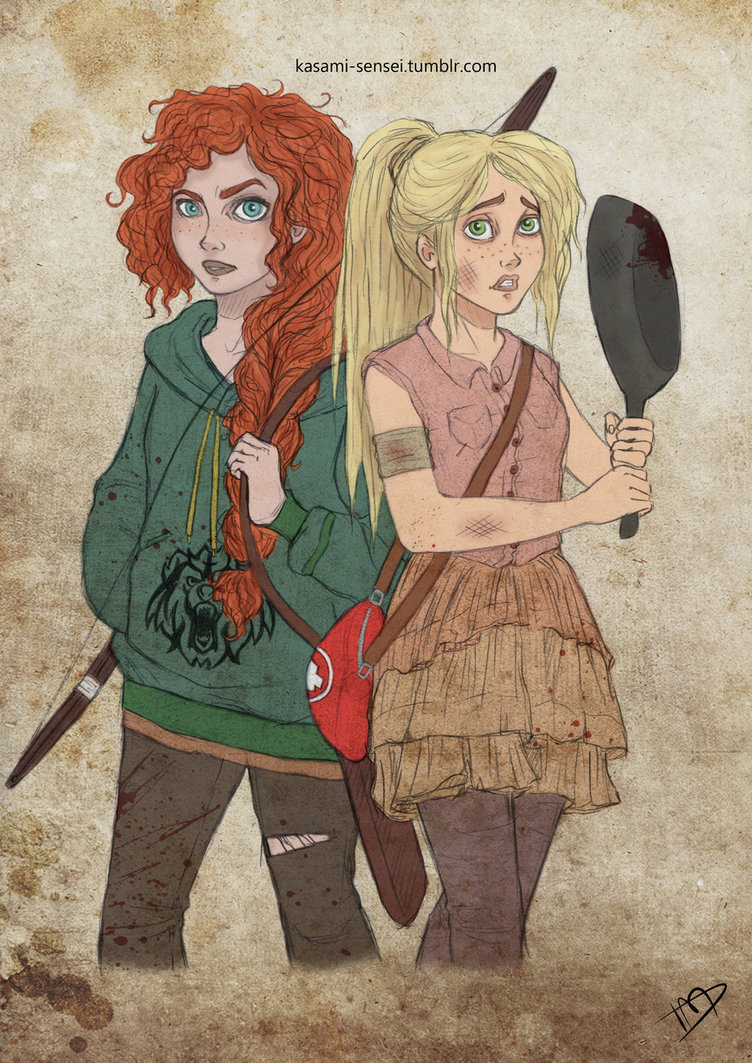 The Walking Disney Merida and Rapunzel 2