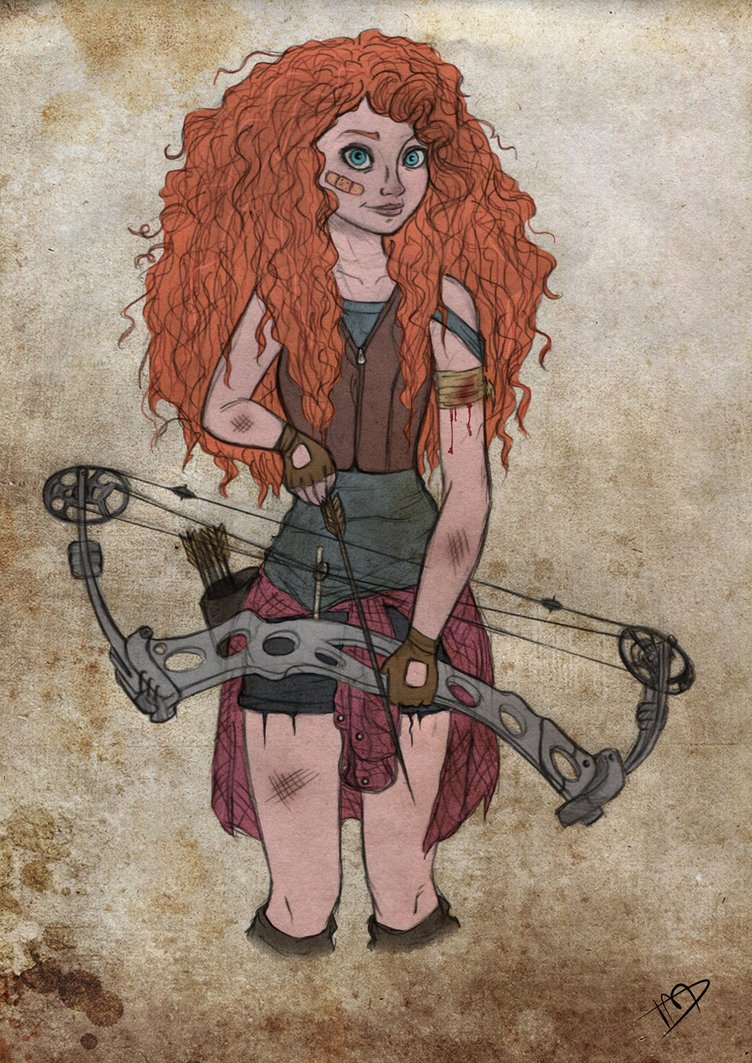 The Walking Disney Merida