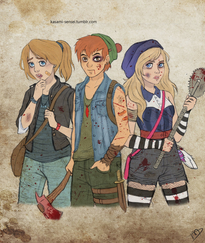 The Walking Disney Peter, Wendy and Alice